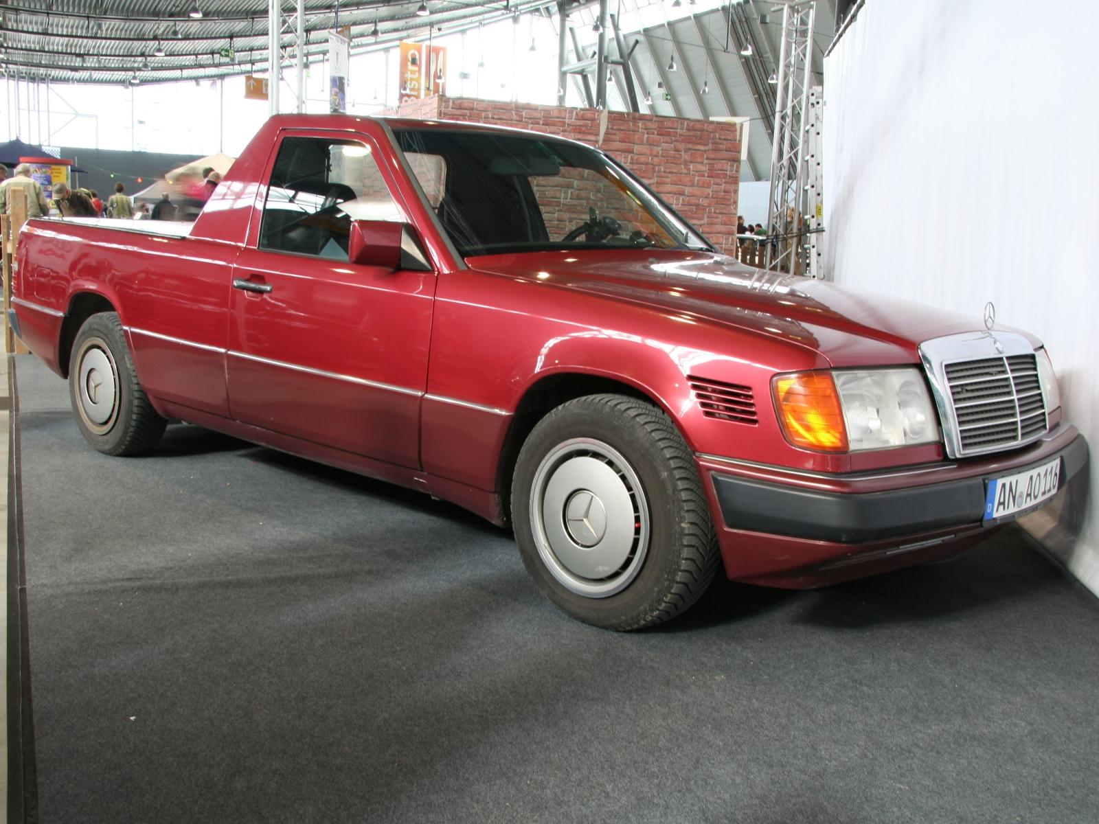 Mercedes benz w124 pickup bildersammlung von christof for Mercedes benz pickup