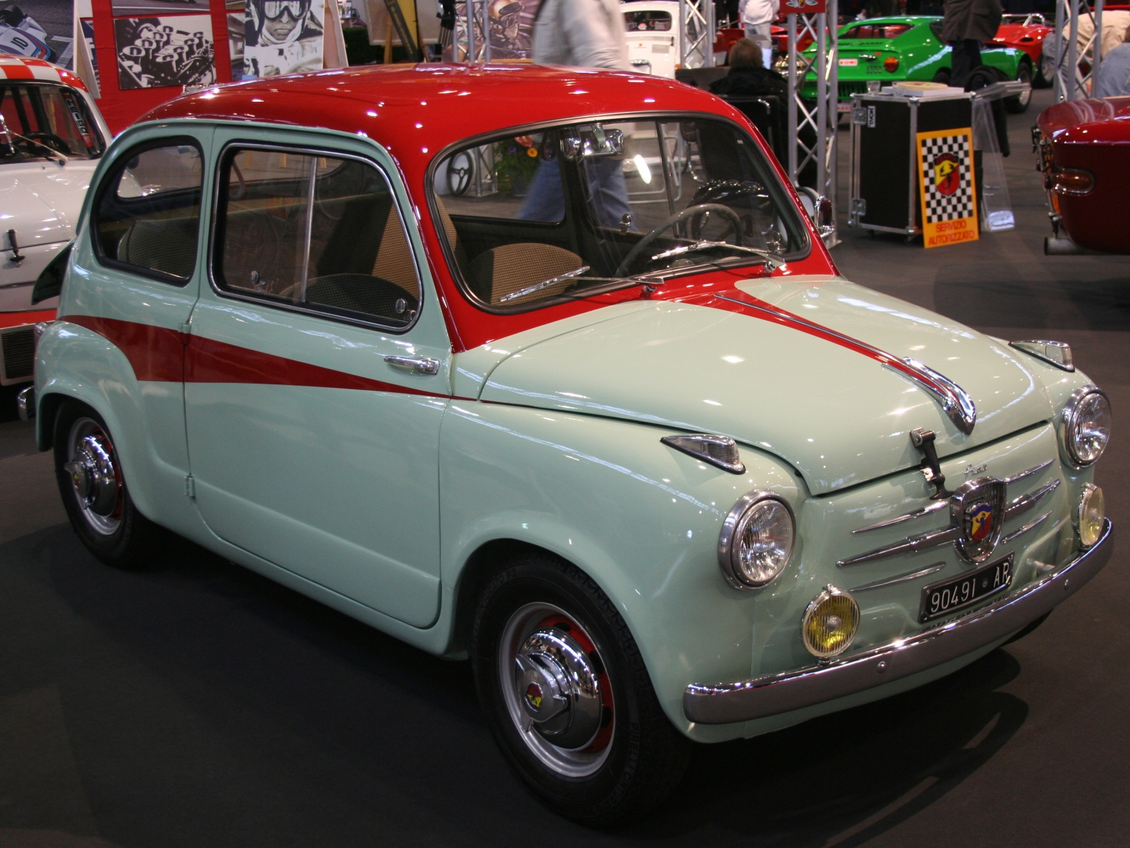1959 Fiat 750 Berlina Abarth Related Infomation