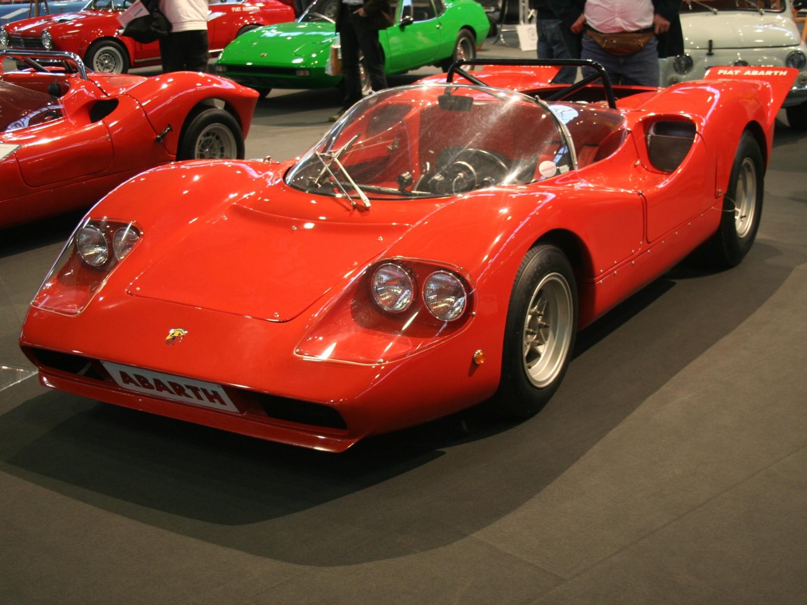 Abarth Fiat Sport Spider Serie Ii Bildersammlung Von